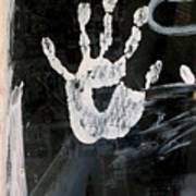 Hand In Window Picacho Arizona 2004 Poster