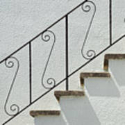 Handrail And Steps 2 Poster
