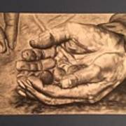 Hands Of Poverty Poster