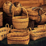 Handwoven Baskets Poster