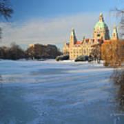 Hanover In Winter Poster