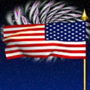 Happy Birthday America Poster