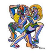 Happy Dancers Poster