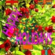 Happy Holidays 9 Poster by Patrick J Murphy