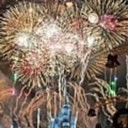 Happy New Year From Walt Disney World Poster