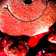 Happy To Be Red Poster
