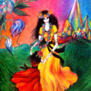 Happy To Dance. Ameynra And Mother-queen Poster