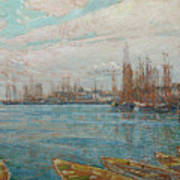 Harbor Of A Thousand Masts Poster