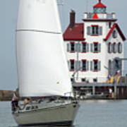 Harbor Sailor Poster