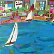 Harbor Sails Poster