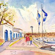 Harbour Of Cala Ratjada 01 Poster