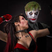 Harley And The Joker Poster