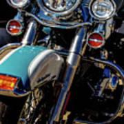 Harley Lights 1483 H_2 Poster