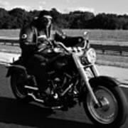 Harley Man Poster