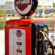 Harley Petrol Poster