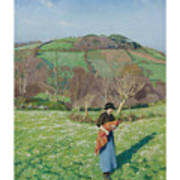 Harold Harvey 1874-1941 British Early Spring Poster