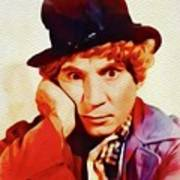 Harpo Marx, Hollywood Legend Poster