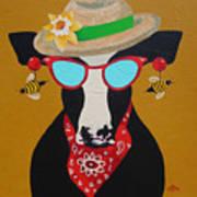 Harriet Honeybee Holstein Poster