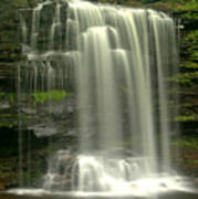 Harrison Wrights Falls Poster