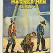 Harry Carey In Marked Men 1919 Poster
