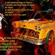 Harry Chapin Taxi Song Poster With Lyrics Poster