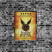 Harry Potter London Theatre Poster Poster