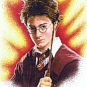 Harry Potter The Wizard Poster