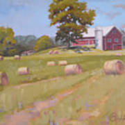 Hartville, Ohio Farm Poster