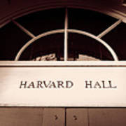 Harvard Hall #2 Poster