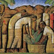 harvest, by Alfredo Ramos Martinez Poster