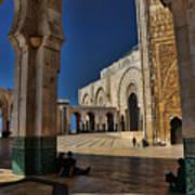 Hassan II Mosque  Poster