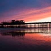 Hastings Pier - Purple Poster