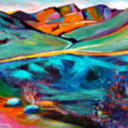 Hatcher Pass in Full Color. Poster