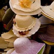 Hats Capri Italy Poster