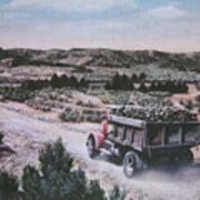 Hauling Uranium Ore 1952 Poster