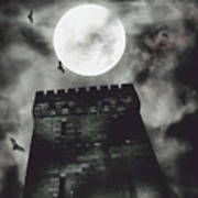 Haunted Dark Castle Poster