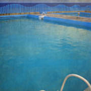 Havana Cuba Swimming Pool And Ocean Poster