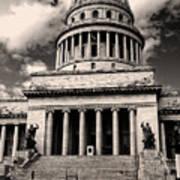 Havana El Capitolio Poster