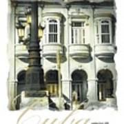 Havana Facade Poster by Bob Salo