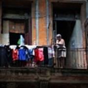 Havana Laundry No. 1 Poster