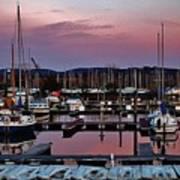 Haverstraw Marina At Dawn Poster