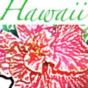 Hawaii Blush Poster