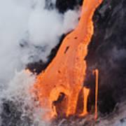 Hawaii Lava Poster