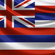Hawaii State Flag Poster