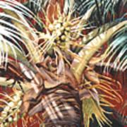 Hawaiian Fireworks Poster