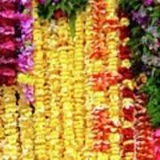 Hawaiian Flower Lei's Poster