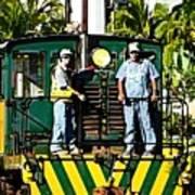 Hawaiian Railway Poster