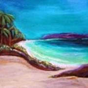 Hawaiin Blue Poster