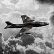 Hawker Hunter Poster