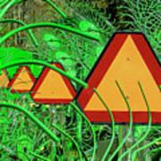 Hay Equipment Poster